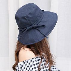 Signore Moda/Stile classico Cotone Beach / Sun Cappelli