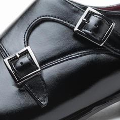 Monk-straps Dress Shoes Real Leather Men's Men's Oxfords