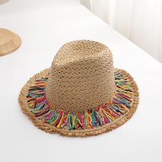 Dames Le plus chaud Paille salée Chapeau de paille/Chapeaux de plage / soleil