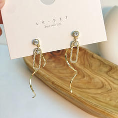 Beautiful Gorgeous Alloy With Zircon Earrings