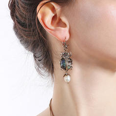 Chic Alloy With Gem Women's Earrings