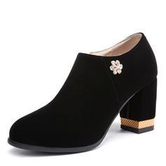 Femmes Suède Talon bottier Escarpins chaussures