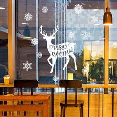 Moderno Clássico Natal Qualquer forma Natureza Morta Adesivos de parede