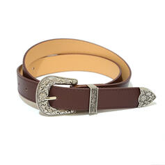 Vintage Alloy PU Women's Belts