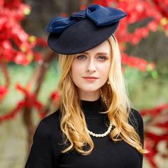 Señoras' Especial Madera con Bowknot Bombín / cloché Sombrero