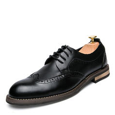 Lace-up Dress Shoes Microfiber Leather Men's Men's Oxfords