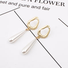 Stylish Simple Alloy Imitation Pearls Women's Earrings