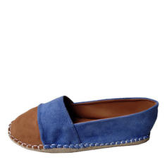 Femmes Suède Talon plat Chaussures plates chaussures