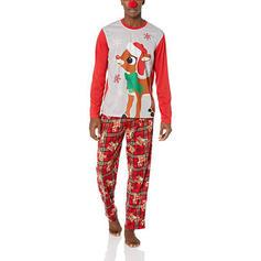 Venado Tela Escocesa Impresión Familia a juego Pijamas De Navidad