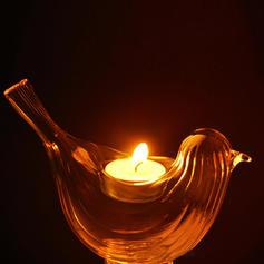 neuheit Vogel Glas Teelicht