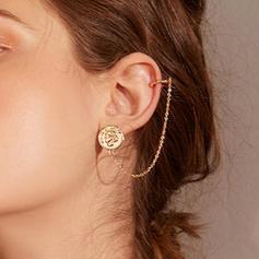 Simple Alloy Women's Earrings (Sold in a single piece)