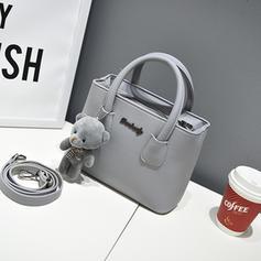 Elegant/Commuting/Solid Color Tote Bags/Crossbody Bags