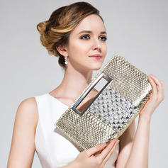 Charming PU With Rhinestone Clutches