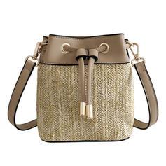 Unique/Fashionable/Special/Bucket Shaped PU/Linen Satchel/Crossbody Bags/Bucket Bags