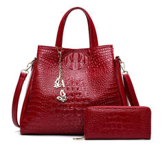 Charming/Fashionable/Alligator Pattern Shoulder Bags