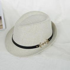 unisex Cea mai tare Acril/Sare paie Hat de paie/Plajă / pălării de soare/Panama Hat