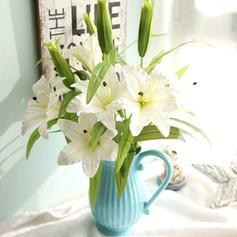 Fleurs de lys Soie Fleurs en soie