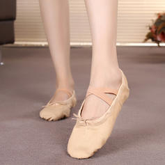 Women's Ballet Flats Canvas Ballet