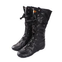 Women's Jazz Dance Boots Boots Leatherette Jazz