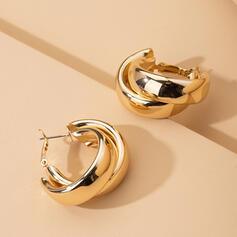 Stylish Alloy Earrings (Set of 2)