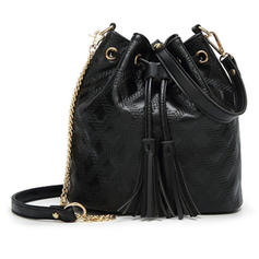Elegant PU Crossbody Bags/Shoulder Bags/Bucket Bags