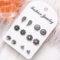Boho Alloy Earrings (Set of 6 pairs)