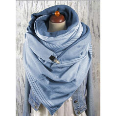 Solid Color Oversized/fashion Scarf