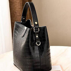 Alligator Pattern Shoulder Bags/Bucket Bags