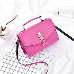 Fashionable/Solid Color Satchel