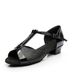 Femmes Latin Chaussures plates Pailletes scintillantes Latin