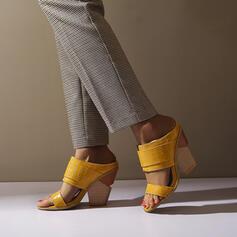 Women's Leatherette Wedge Heel Sandals Wedges Peep Toe Slippers shoes