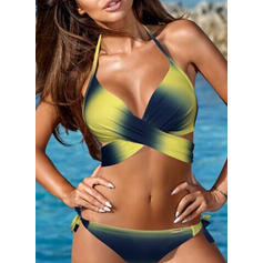 Low Waist Halter Sexy Plus Size Bikinis Swimsuits