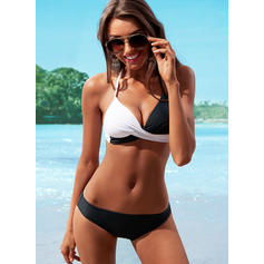 Triangle Halter V-Neck Sexy Bikinis Swimsuits
