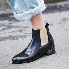 Femmes Similicuir PU Talon bottier Bottes chaussures