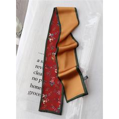 Floral Light Weight/fashion Silk Scarf