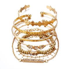Alloy Jewelry Sets Bracelets (Set of 6 pairs)