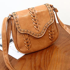 Women's Vintage Casual Magnetic PU Crossbody Bags