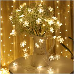 Fröhliche Weihnachten PVC Lichter Weihnachtsdekoration Schneeflocke