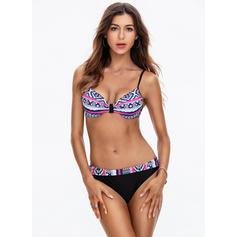 Low Waist V-neck Elegant Bikinis Swimsuits