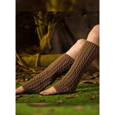 Colore solido traspirante/Confortevole/Da donna/Scaldamuscoli/Calf Calf Calzini/calze autoreggenti