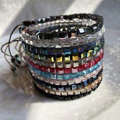 Cristal String coton Bracelets