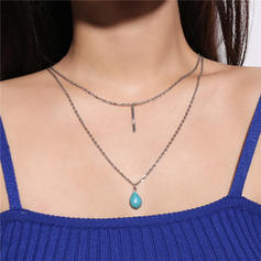 Stylish Alloy Women's Necklaces