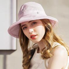 Dames Style Classique/Unique/Simple/Fantaisie Lin Disquettes Chapeau