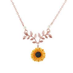 Çiçek Şekilli alaşım Kadın Salkım (Tek parça Satılan)