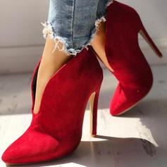 Bayanlar Süet Topuklu ayakkabı bot ayakkabı ayakkabı