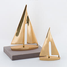 Contemporary Iron Ocean Figurines & Sculptures