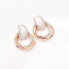Stylish Classic Alloy Rhinestones Women's Earrings