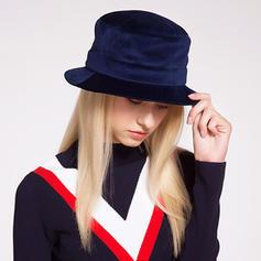 Dames Jolie Coton/Acrylique Chapeau melon / Chapeau cloche