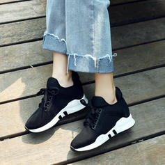 Women's Fabric Casual Outdoor Hiking With Lace-up shoes