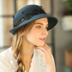 Dames Glamour/Unique Coton Disquettes Chapeau
